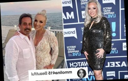 RHONJ's Margaret Josephs shows off amazing weight loss in skintight white lace dress at the beach with husband Joe