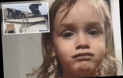 Girl, 3, fighting for life with 50% burns after drunk grandma forgot to rescue her from burning house