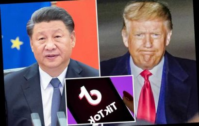 Trump banning US downloads of controversial China-owned apps TikTok and WeChat on Sunday
