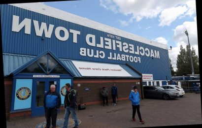 Macclesfield Town wound-up at High Court over £500,000 debts as financial impact of Covid-19 cripples football