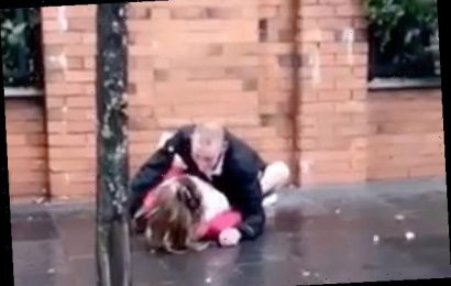 Couple filmed having sex on street in front of shocked shoppers spared jail