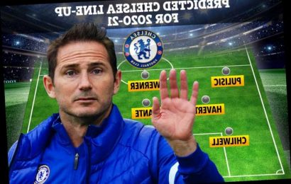 Five ways Chelsea could line-up this season with Lampard having huge squad to pick from and incredible attacking options