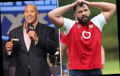 Ex-England rugby ace Corbisiero reveals cancer has returned but he's inspired to beat it by Dwayne 'The Rock' Johnson