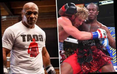YouTube star KSI, 27, bizarrely claims he could beat Mike Tyson, 54, in fight… and so could Logan Paul