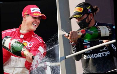 Hamilton vs Schumacher: Wet weather, coping with pressure & consistency – who's the GOAT with Brit set to match F1 wins?