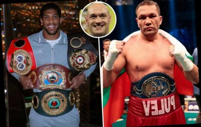Joshua planned to face Pulev on December 12 at o2 with Fury vs Wilder trilogy week later setting up Brit fight for 2021