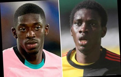 Liverpool line up double transfer swoop for Watford's Ismaila Sarr and Barcelona ace Ousmane Dembele on loan