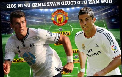 Man Utd could have lined up with Cristiano Ronaldo, Bale, Van Persie and Rooney with Fergie weeks from signing the pair – The Sun