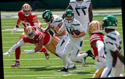 Jets obliterated by 49ers in another embarrassing loss