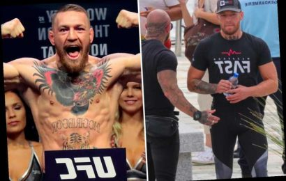 Conor McGregor 'flashed his private parts' to a 'shocked' married woman in Corsica bar