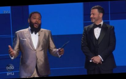 Anthony Anderson Spotlights Black Lives Matter in Emmys Speech