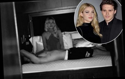 Brooklyn Beckham's fiancée Nicola Peltz shares intimate photos of them in bed