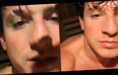 Charlie Puth Gets Lusty in Hot Shirtless TikTok