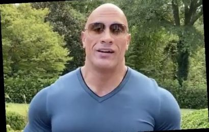 Dwayne Johnson Endorses Joe Biden, Kamala Harris for President, VP