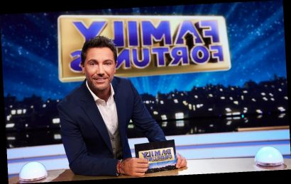 Fans defend Gino D'Acampo after first presenting stint on Family Fortunes