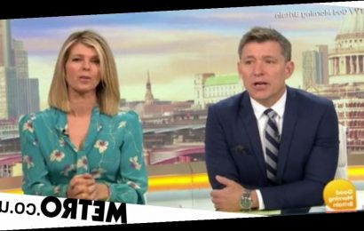Kate Garraway mortified after finding six day old contact lens lodged in her eye