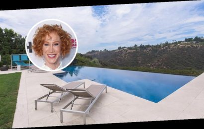 Kathy Griffin Laughs Her Way Out of Bel Air Mansion