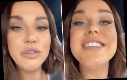 Vicky Pattison terrified after stranger spits at her on the street