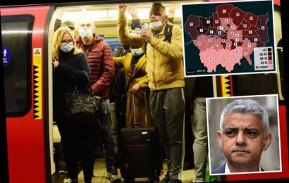 London lockdown: Covid-19 cases rise in every borough amid fears of full shutdown with pubs closed & meeting pals banned