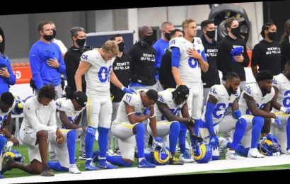 Opinion: NFL gets behind player protests in opening week, but more support needed