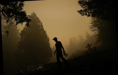 US Marines, friends brave Oregon wildfire, help save man's home: report