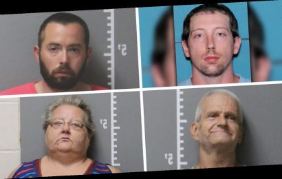 Iowa authorities arrest 4 in killing of man whose body was found burning in ditch
