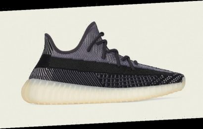 """YEEZY BOOST 350 V2 """"Carbon"""" Is Here for Fall"""