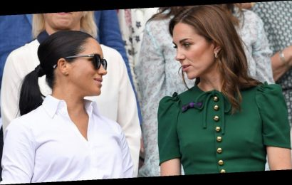 Kate Middleton's recent very glamorous fashion choice could have been inspired by Meghan Markle