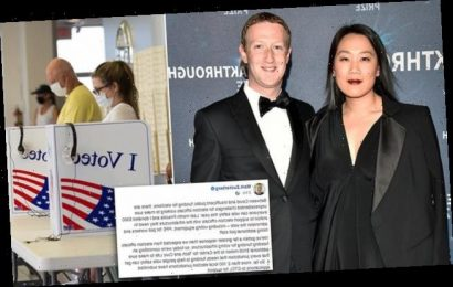 Mark Zuckerberg and Priscilla Chan donate another $100M to elections