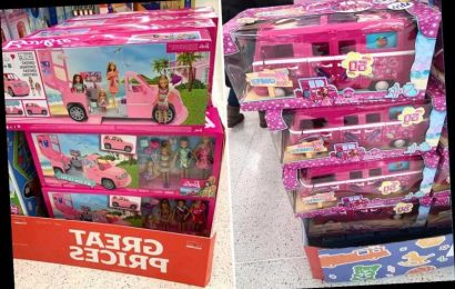Sainsbury's slashes price of Barbies in massive toy sale & parents are racing to get the camper van with £90 off