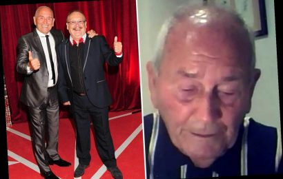 Bobby Ball's comedy partner Tommy Cannon tears up saying he'll 'never get over' his death and a 'big chunk of me is gone