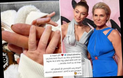 Gigi Hadid's mom Yolanda breaks silence on birth of her granddaughter with adorable photo