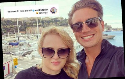 Rebel Wilson teases she does 'a lot of exercise' with new boyfriend Jacob Busch – The Sun