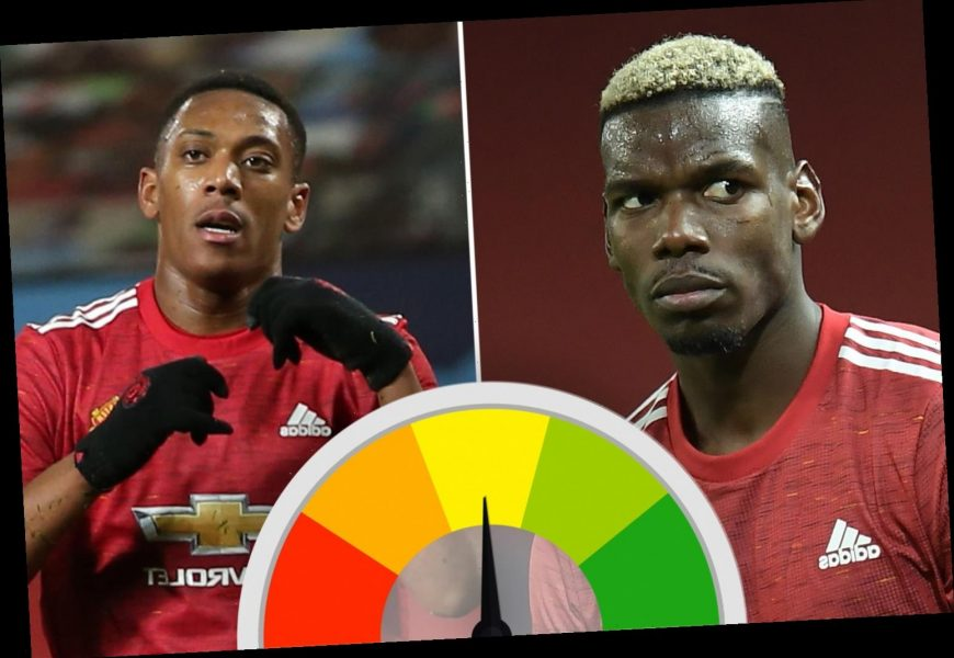 Man Utd ratings: Pogba makes impressive return as Fred dominates in midfield but Martial struggles against RB Leipzig