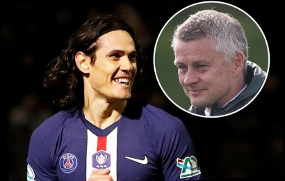 Edinson Cavani 'agrees Man Utd transfer' with ex-PSG star set to sign two-year deal