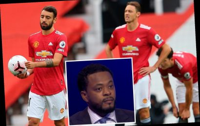 Furious Patrice Evra tells Man Utd fans to 'go on the Playstation and buy Sancho and Messi' during Spurs humiliation