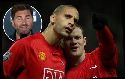 Eddie Hearn wants to stage Wayne Rooney vs Rio Ferdinand charity BOXING match at Man Utd's Old Trafford