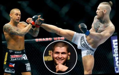 Khabib's manager says 'it's not fair' for McGregor to earn UFC lightweight title shot by facing Poirier at welterweight