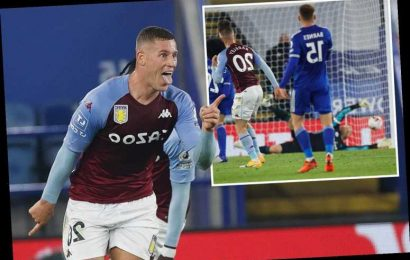 Leicester 0 Aston Villa 1: Ross Barkley strikes in injury time to keep up Dean Smith's side's perfect start to season
