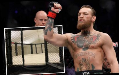Conor McGregor all-but confirms UFC comeback as he buys own private octagon for training amid Dustin Poirier fight talks