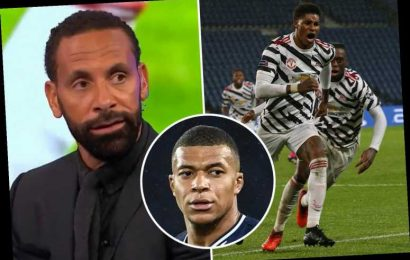 Marcus Rashford 'can be world class' – claims Man Utd icon Rio Ferdinand as striker matches amazing Mbappe record at PSG