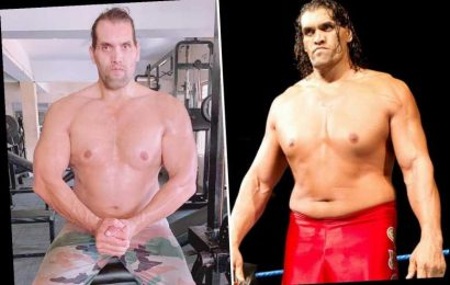 WWE legend The Great Khali shows off shredded new physique after undergoing dramatic body transformation after wrestling – The Sun