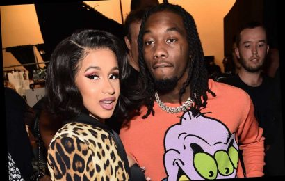 Cardi B was in bed with Offset when she accidentally posted her nude photo