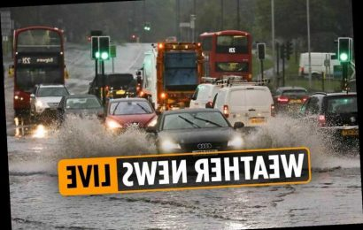 Weather forecast TODAY – UK hit with 'DANGER TO LIFE' warnings by Met Office as Storm Alex brings heavy rain and wind