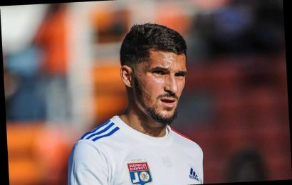Arsenal suffer transfer catastrophe as Lyon decide NOT to sell Houssem Aouar with 'all negotiations off'