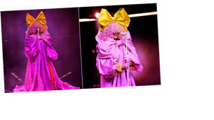 I Can't Stop Staring at Sia's Double Bow Outfit at the Billboard Music Awards
