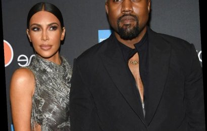 Kanye West Surprises Kim Kardashian With a Lifelike Hologram of Her Late Father
