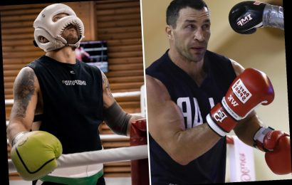 Oleksandr Usyk was 'bossing' Wladimir Klitschko in sparring and 'slung out' ring after just one round, reveals Nelson