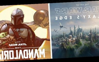 'The Mandalorian' and Star Wars Galaxy's Edge Art Books Teased by Lucasfilm Publishing [NYCC 2020]