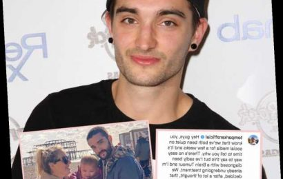 The Wanted Singer Tom Parker Announces He's Been Diagnosed With A Terminal Brain Tumor